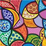 Papel de Parede Adesivo - Multi Colorido - N0005