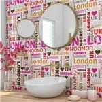 Papel de Parede Adesivo Quarto Teen Londres QT19005