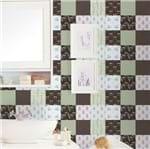 Papel de Parede Adesivo Rolo 0,58x3,00M Azulejo Bolinhas Listrado Flechas 285448145