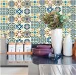 Papel de Parede Adesivo Rolo 0,58x3,00M Azulejo Portuguesa 227543416
