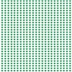 Papel de Parede Adesivo Rolo 0,58x3,00M Coração Verde864702616