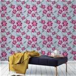 Papel de Parede Adesivo Rolo 0,58x3,00M Floral Flores Poa 849175637
