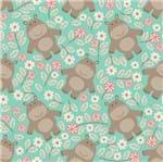 Papel de Parede Adesivo Rolo 0,58x3,00M Hipopotamo Animal Infantil 252811729