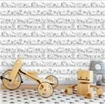 Papel de Parede Adesivo Rolo 0,58x3,00M Infantil para Colorir Crianças 264796085