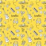 Papel de Parede Adesivo Rolo 0,58x3,00M Musica Adolescente Teen Jovem 308245283