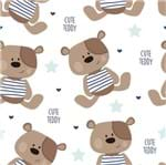 Papel de Parede Adesivo Rolo 0,58x3,00M Urso Animal Infantil 259989854
