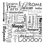 Papel de Parede Autocolante Cidade Capitais Europeias 113713243