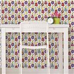 Papel de Parede Autocolante Esmaltes Coloridos 392672098