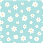 Papel de Parede Autocolante Floral Branco 326608565