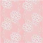 Papel de Parede Autocolante Floral Rosa 285687959