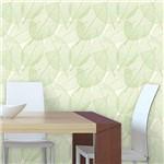 Papel de Parede Autocolante Folhas Verde 55646941