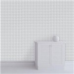 Papel de Parede Autocolante Geometrico 3d Cinza 210996376