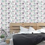 Papel de Parede Autocolante Jovem Geométrico Colorido 290544347