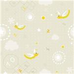 Papel de Parede Autocolante Libelula Amarela 11158519