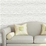 Papel de Parede Autocolante Pedras Branco 0123