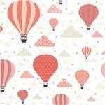 Papel de Parede Bebê Quarto Infantil Balão Balões N3972