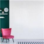 Papel de Parede Branco Adesivo Abstrato 2,70x0,57m
