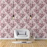 Papel de Parede Cerejeira Abstrato Rosa Claro - P