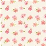 Papel de Parede de Flores Adesivo Florido 2,70x0,57m