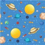 Papel de Parede Espaço Sistema Solar 2,70x0,57m