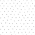 Papel de Parede Estrelas Pequenas Prata com Brilho Bobinex Renascer 6214 Vinílico