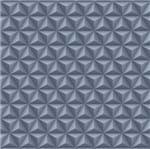 Papel de Parede Geométrico 3d Azul Marinho Bobinex - Amecasa