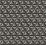 Papel de Parede Geométrico 3d Preto Bobinex - Amecasa