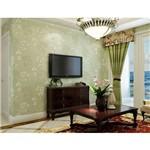 Papel de Parede Importado Flor de Lótus Verde Claro 10M*53CM Quarto Sala Alto Luxo