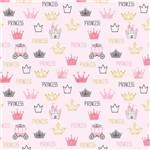 Papel de Parede Infantil Princesa 2,70x0,57m