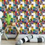 Papel de Parede Lego Divertidos Colorido - P