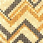 Papel de Parede Pop Pastilhas Vinilico Dourado e Cobre