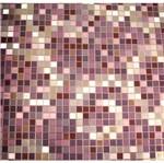 Papel de Parede Pop Pastilhas Vinilico Marrom e Dourado