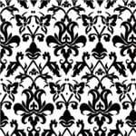 Papel de Parede Vintage Desenhos Preto e Branco - P