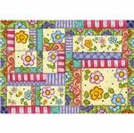 Papel Decoupage 34,3x49cm Flores Coloridas PD-421 - Litoarte