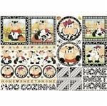 Papel Decoupage 34,3x49cm Vacas Home Sweet Home PD-455 - Litoarte