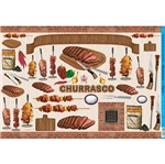 Papel Decoupage 49x34 Churrasco PD-558 - Litoarte