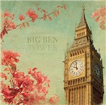 Papel Decoupage Adesiva 15x15 Big Ben Tower Daxv-057 - Litoarte