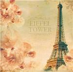 Papel Decoupage Adesiva 15x15 Eiffel Tower DAXV-055 - Litoarte