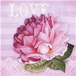 Papel Decoupage Adesiva 15x15cm Love DAXV-032 - Litoarte