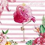 Papel Decoupage Adesiva Litoarte DA20-098 20x20cm Flamingo