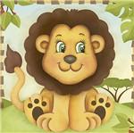 Papel Decoupage Adesiva Litoarte DAX-150 10x10cm Safari Leão