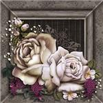 Papel Decoupage Adesiva Litoarte DAXV-011 15x15cm Rosas Coloridas