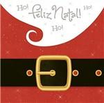 Papel Decoupage Adesiva Litoarte Natal DANX-001 10x10cm Papai Noel Cinto e Barba