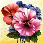 Papel Decoupage Arte Francesa Amor Perfeito II AFQ-367 - Litoarte