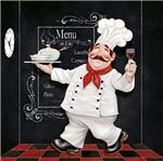 Papel Decoupage Arte Francesa Cozinheiro Fofão AFQ-353 - Litoarte