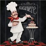 Papel Decoupage Arte Francesa Cozinheiro Magrão AFQ-354 - Litoarte
