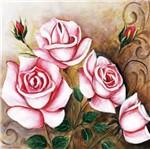 Papel Decoupage Arte Francesa Grande Flores LFQG42 - Litocart