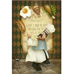 Papel Decoupage Arte Francesa Litoarte AF-308 31,1x21,1cm Cozinheiro Malabarista