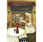 Papel Decoupage Arte Francesa Litoarte AF-309 31,1x21,1cm Cozinheiro na Cantina
