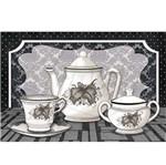 Papel Decoupage Arte Francesa Litoarte AF-172 31,1x21,1cm Chá
